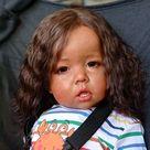 20''Realistic Reborn Baby Doll Named Lennon Cloth Body