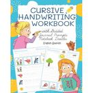 Cursive Journal Prompts Kids Cursive Handwriting Workbook with Guided Journal Prompts Notebook Doodles English Spanish My first learn to write workbook dnealian handwriting practice book with lined