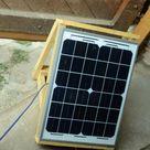 Kleine Solaranlage selber bauen - Bauanleitung Insel-Photovoltaikanlage