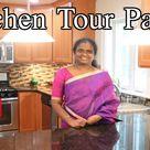 அமெரிக்காவில் எங்கள் வீட்டு சமையலறை   USA Kitchen Tour in Tamil    Part 2