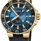 Oris Carysfort Reef Gold Limited Edition Men's 43mm Watch in Blue by Exquisite Timepieces