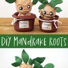 DIY Harry Potter Mandrake Roots