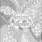 Four Positive Vibe Coloring Pages  Spread Good Vibes  On a | Etsy