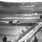 Ventura Boulevard running through the future site of Sherman Oaks in the San Fernando Valley, circa 1920  