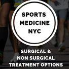 Sports Medicine Doctors in New York City