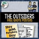 The Outsiders   Quote Posters