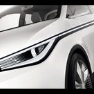 2011 Audi Urban Concept    Headlight