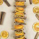 Dried Orange Slices and Cinnamon Garland   Etsy