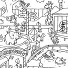 Coloring Page - Zoo coloring pages 4