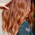 Reddish Brown Hair With Highlights Fall