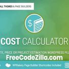 Cost Calculator v2.3.6 - WordPress Plugin Free Download