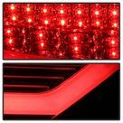 Spyder 08 12 Audi A5 LED Tail Lights   Red Clear ALT YD AA508V2 LED RC