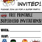 Free Birthday Invitations
