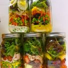 Mason Jar Lunch