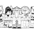 18 Ninjago Ausmalbilder Kostenlos Drucken | Kinder Für Malvorlagen