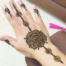 Stylish mehndi design for hands