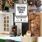 A Crackling Fire: Indoor Firewood Storage Ideas - Home Tree Atlas