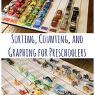 Sorting, Counting, and Graphing for Preschoolers   Frugal Fun For Boys and Girls