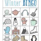 Winter BINGO - Free Printable!