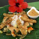 Indonesisch: Gado-Gado - Gemüse mit Erdnusssoße