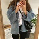 Teens casual outfit idea style autumn 2021 cute korean shopping instagram college