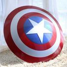 Marvels Avengers Legend Captain America Shield ~Metal Prop Replica ~Halloween Medieval Armor Cosplay GIFT fully functional shield