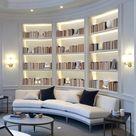 9 Beautiful Bookshelf Design Ideas • One Brick At A Time