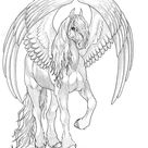 FriesianPegasus by moonfeather on DeviantArt