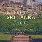 25 Interesting Facts on Sri Lanka   Travelgal Nicole