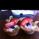 Fruit Pizza Cups