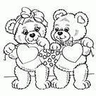 Valentijnsdag kleurplaten. Print een kleurplaat voor je geliefde | Leuk voor kids