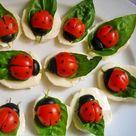 Caprese Salad Cherry Tomatoes