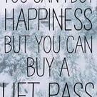 Ski Lift Tickets