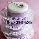 Lavendelseife  einfach selber machen