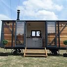Luxluxury hand crafted Shepherd Huts for sale in Somerset England