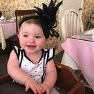 Baby Blue Fascinator Womens Tea Party Hat Church Hat Derby | Etsy