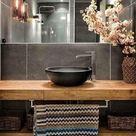 Luminária para Banheiro: +65 Modelos Lindos para a Sua Iluminação