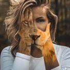 Lion edit Idee für Kreative Instagram Fotos
