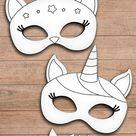 Free Printable Mask Templates for Kids