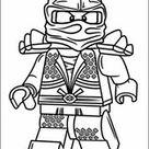 Lego Ninjago Printen Kleurplaat 9