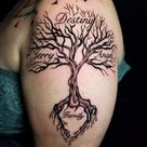 30 Family Tree Tattoo Designs And Meanings