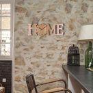 ALmi Glatte Oberfläche Wanduhr zum Aufhängen, Uhr, Büro für Zuhause Wohnzimmer Schlafzimmer