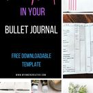Project Management in your Bullet Journal (Free Template)