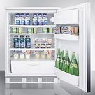 Built-In Medical Refrigerator   Stainless steel w/Horizontal handle