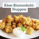 Käse-Blumenkohl-Nuggets - so geht's   LECKER