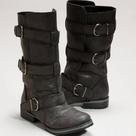 Black Biker Boots