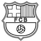 Printable barcelona soccer coloring pages for kids