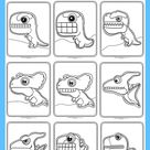 Silly Dinosaur Coloring Pages