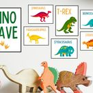Printable Dinosaur Posters Set of 7 Dino-Cave Classroom   Etsy