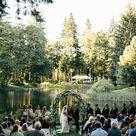 Ultra Romantic Forest Wedding